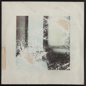 Sanded record sleeve