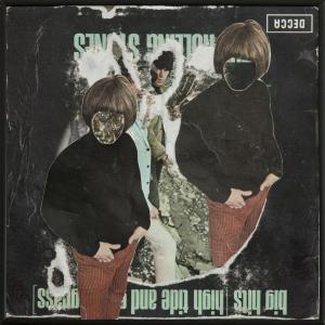 Collaged record sleeve ( Double Jones)